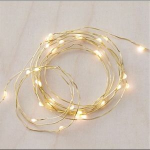 Urban Outfitters Copper Firefly String Lights